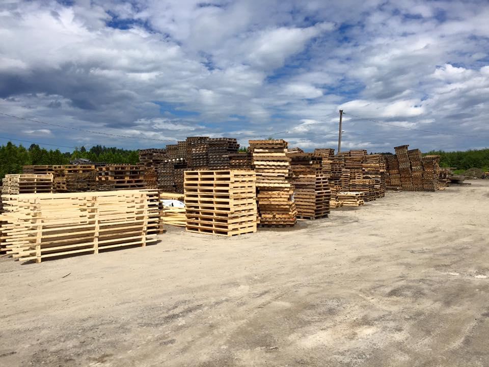 Palettes de bois les entreprises ren gauthier for Les palettes en bois
